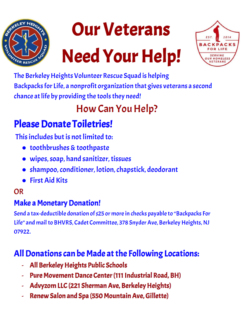 You can donate at any of the locations listed on the flyer. We will have  the boxes out until mid December. For more information about the  organization, ...