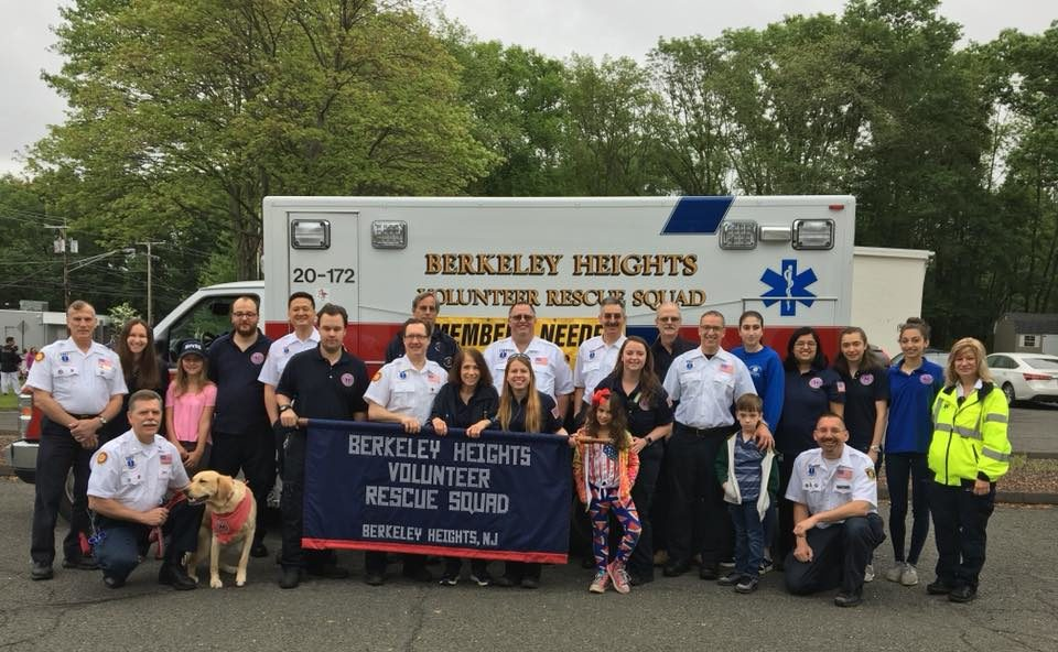 Berkeley Heights Volunteer Rescue Squad – Serving the